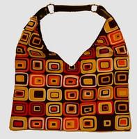 Retro red-yellow V bag Bag