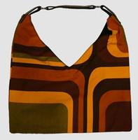 Squared orange V bag Bag