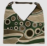 Wave green V bag Bag