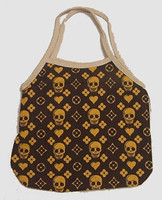 Brown hand bag Bag