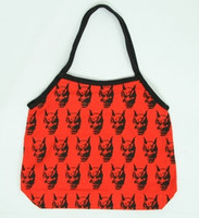 Hanya red-black hand bag Bag