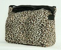 Leopard brown LH large fluffy bag