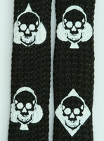 Ace Of Spades Black Skull B&W Skull