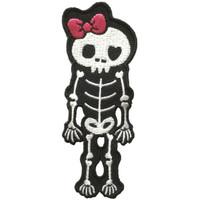 Cute skeleton pink skull big