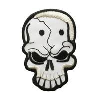 Skull white dots skull big