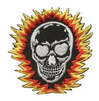 Skull shinning black skull big
