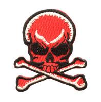 Skull bone red skull big