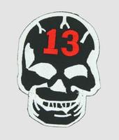Skull black 13 skull extra big