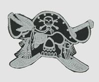 Pirate sword skull extra big
