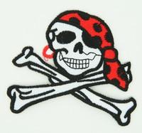 Pirate bone skull extra big