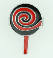 Lolly black-red sweet ring