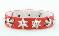 Star red studs small stud