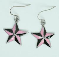 Star black-pink star pendant