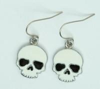 Skull plain white skull pendant