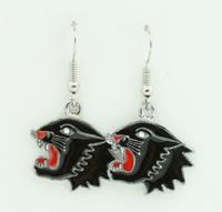 Panther black animal pendant
