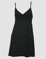 Front - SP star dot spaghetti dress