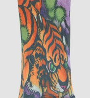 Tiger fake tattoo sleeves accessory