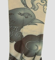 Phoenix grey fake tattoo sleeves accessory