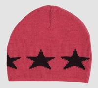 Stars pink-navy stars beanie