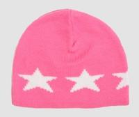 Stars pink-white stars beanie