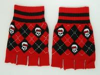 Cute classic red gloves accessory