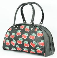 Cherry medium bowling bag