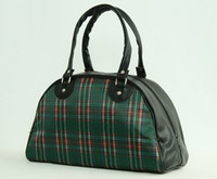 Scotch green medium bowling bag