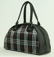 Scotch black medium bowling bag