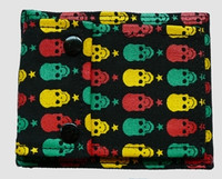 Skulls color wallet standard wallet
