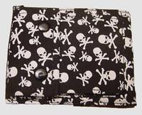 Small skulls wallet standard wallet