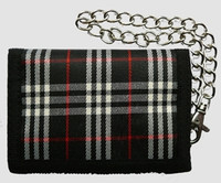 Scotch black mixed with chain wallet