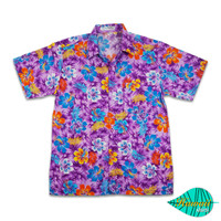 Fullibiscus purple hawaii shirt