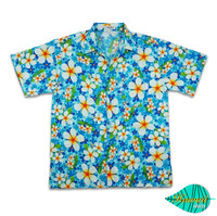Foam blue hawaii shirt