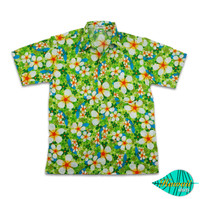 Foam green hawaii shirt