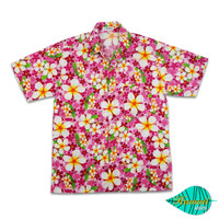 Foam pink hawaii shirt