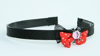Black-red / skull tooth pink red bow & skull