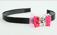 Pink / cute Sk bone red dark pink bow & skull