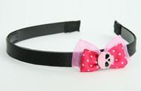 Pink / skull plain pink dark pink bow & skull