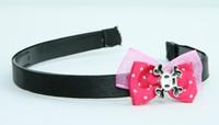 Pink / skull square white dark pink bow & skull