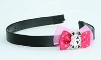 Pink / cute skull bone white-pink Dark pink bow & skull