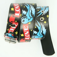 True love black animal belt