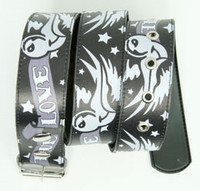 True love grey animal belt