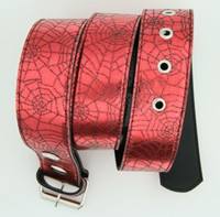 Spider red animal belt