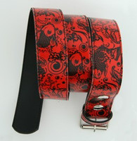 Carper round red animal belt