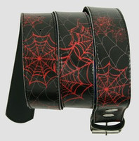 Spider black-red animal belt