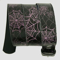 Spider black-purple animal belt
