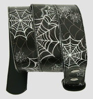 Spider black-white animal belt