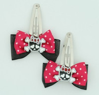 Pink cute skull bone black-red black-dark pink skull