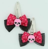 BL-D Pink/ Skull Plain Pink Black-Dark Pink Skull