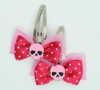 Pink / skull plain pink dark pink skull